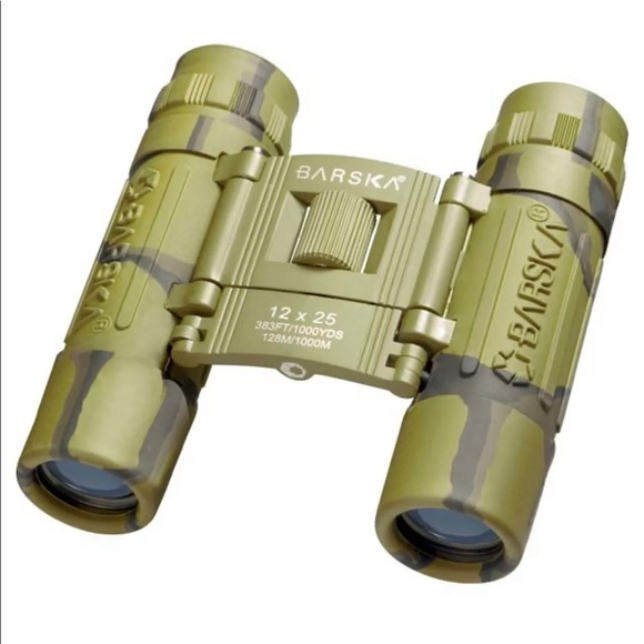 12x25mm Lucid View Compact Camouflage Binoculars